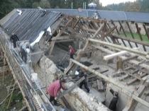 Westflügel-Dach